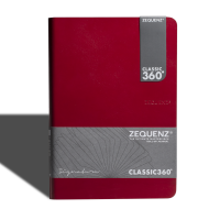 Signature Journal A5(L) Red Blank