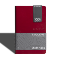 Signature Journal A6(Mini) Red Ruled