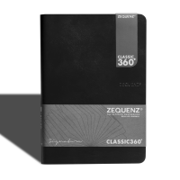 Signature Journal A5(L) Black Blank