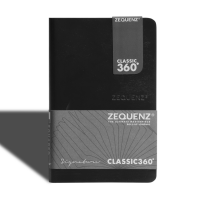 Signature Journal A6(Mini) Black Blank