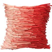 BAMBOO CUSHION-SHADING RED