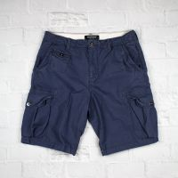 Mens Cargo Shorts Gray