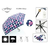 Fold Umbrella F3/004 - Navy